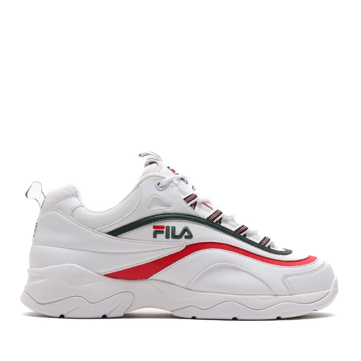 FILA RAY(WH/SYCA/FR)(フィラ レイ)【メンズ】【スニーカー】【19SS-S】