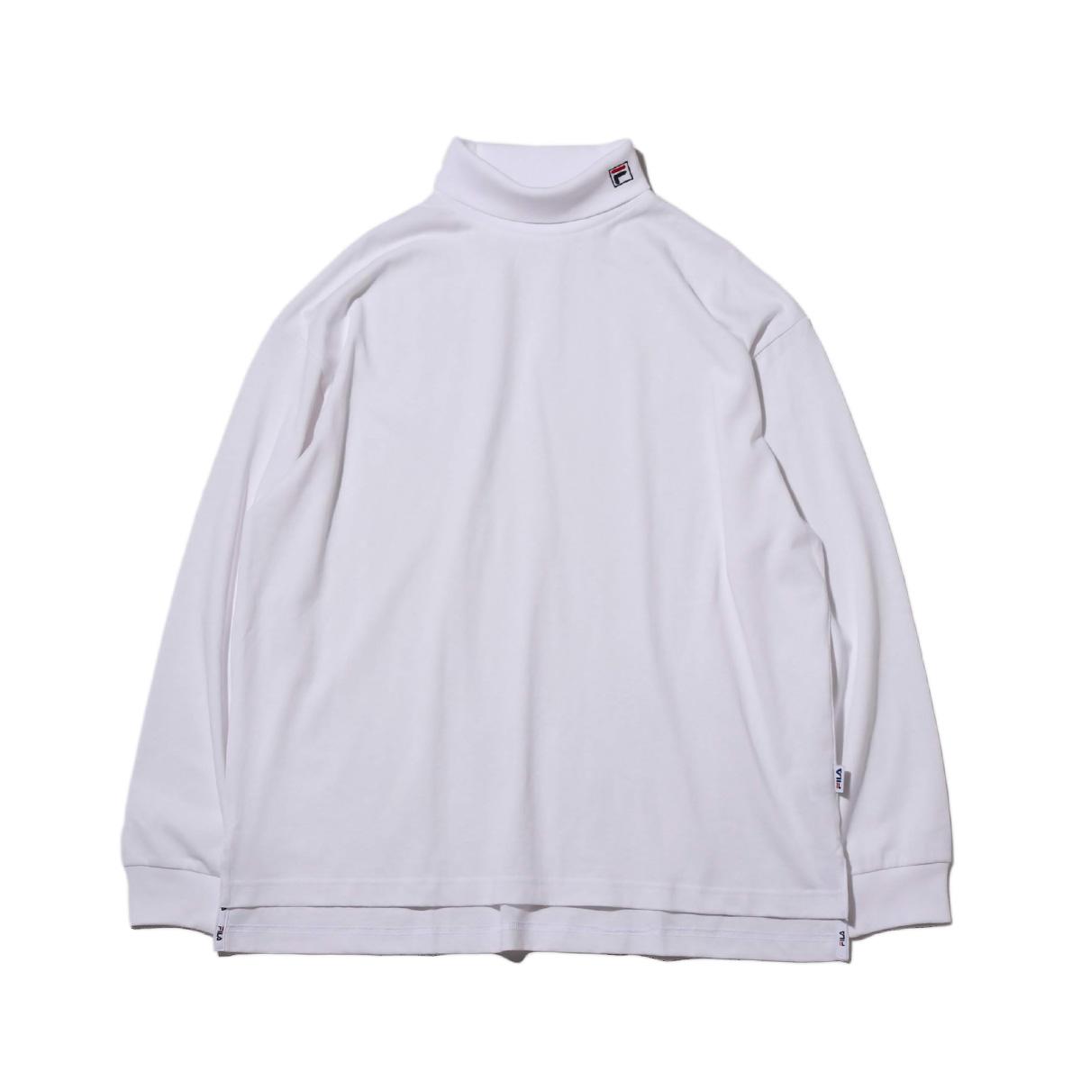 Nowa lista dobra obsługa taniej FILA Turtle neck shirt (WHITE) (Fila turtleneck)