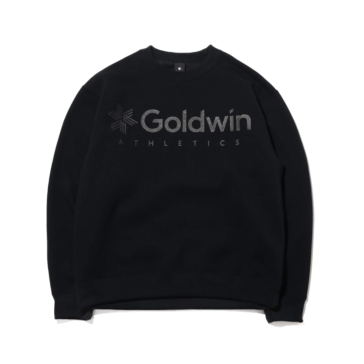 Goldwin Jog Crew Neck Sweatshirt(BLACK)(ゴールドウィン ジョグ クルー ネック スウェットシャツ)【メンズ】【スウェット】【20SP-I】