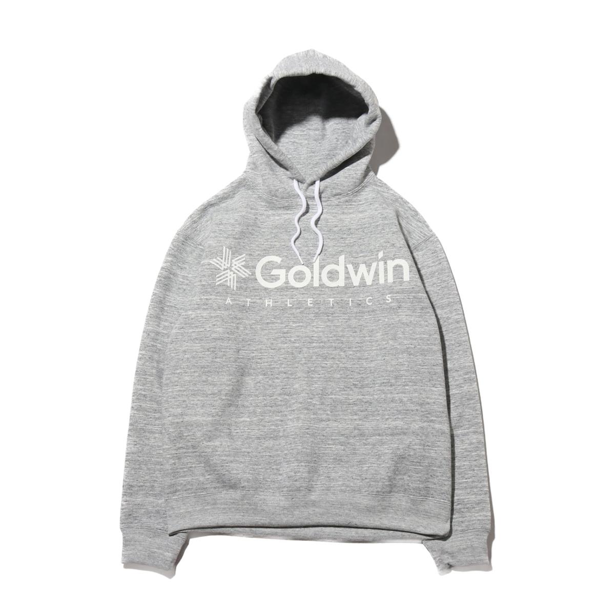 Goldwin Jog Hoodie(HEATHER GREY)(ゴールドウィン ジョグ フーディー)【メンズ】【パーカー】【20SP-I】