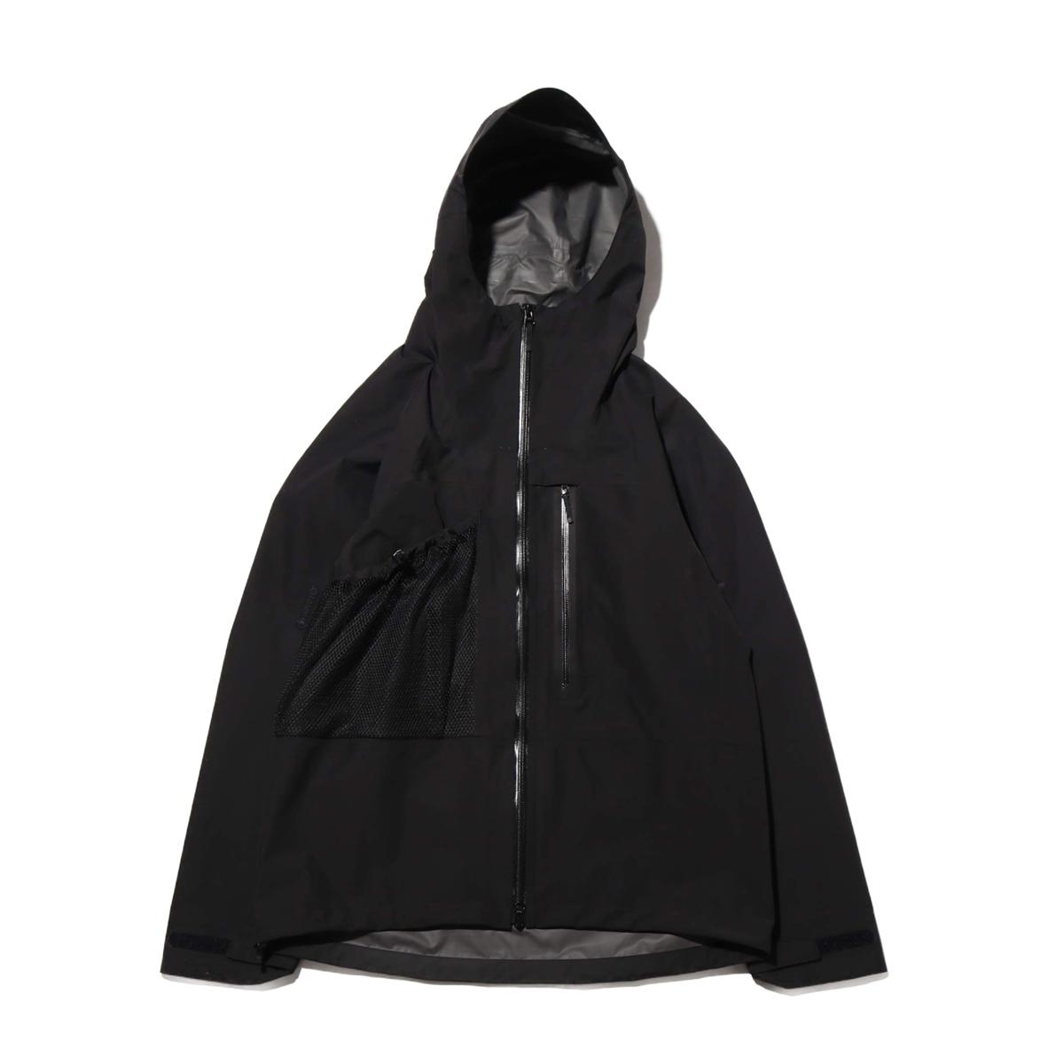 Goldwin GORE-TEX Utility Mountain Jacket(BLACK)(ゴールドウィン ゴアテックス ユーティリティ マウンテンジャケット)【メンズ】【ジャケット】【20SP-I】