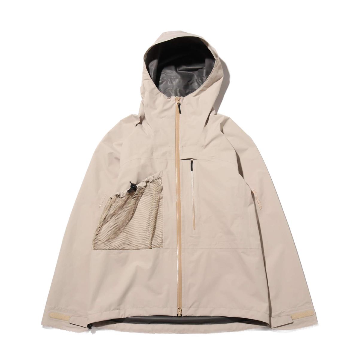 Goldwin GORE-TEX Utility Mountain Jacket(SAND BEIGE)(ゴールドウィン ゴアテックス ユーティリティ マウンテンジャケット)【メンズ】【ジャケット】【20SP-I】