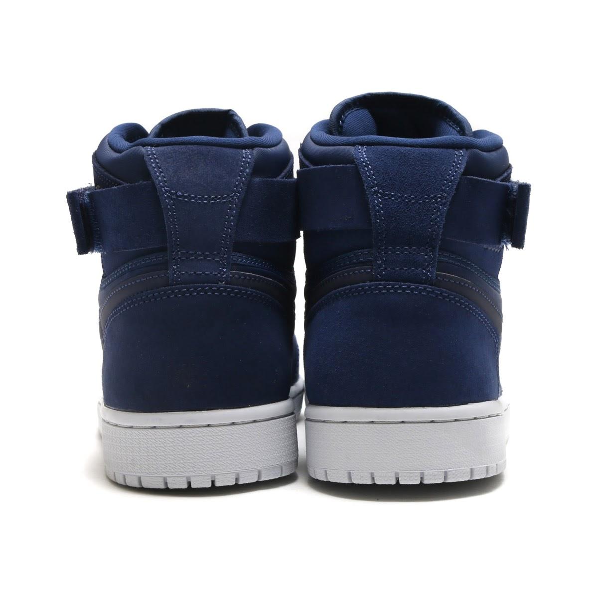 93bc4dfa0345 NIKE AIR JORDAN 1 HIGH STRAP (Nike Air Jordan 1 Heiss trap) (MIDNIGHT NAVY MIDNIGHT  NAVY)