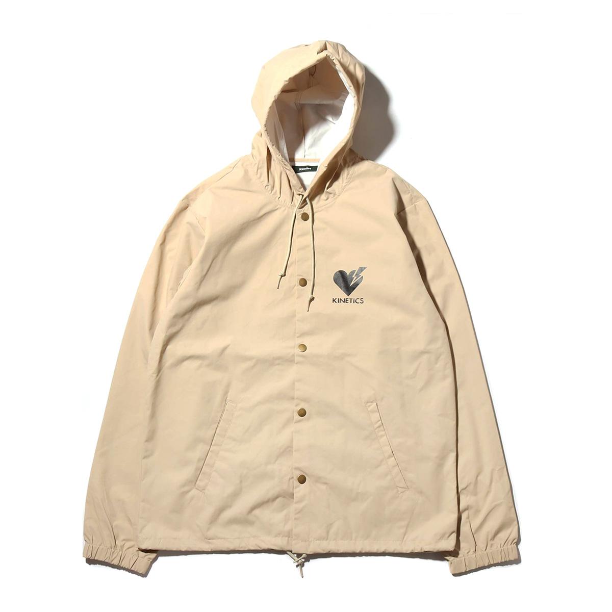 Kinetics Patient Hooded Jacket(キネティクス ペイシャント フーデッド ジャケット)(BEIGE)【メンズ】【ジャケット】【19SS-I】