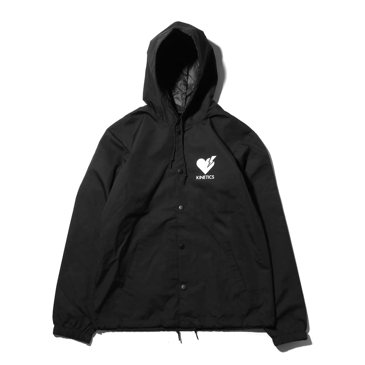 Kinetics Patient Hooded Jacket(キネティクス ペイシャント フーデッド ジャケット)(BLACK)【メンズ】【ジャケット】【19SS-I】