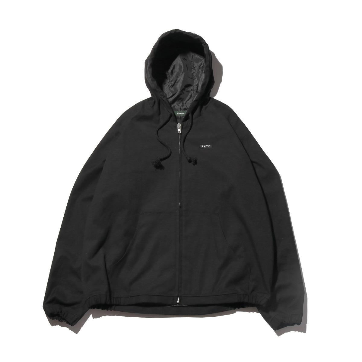 Kinetics Hooded Canvas Jacket(BLACK)(キネティクス フーデッド キャンバス ジャケット)【メンズ】【ジャケット】【19SS-I】