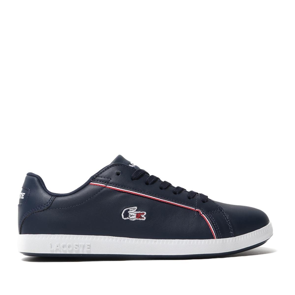LACOSTE GRADUATE 119 2(NVY/WHT/RED)(ラコステ グラジュエート 119 2)【レディース】【スニーカー】【19SP-I】