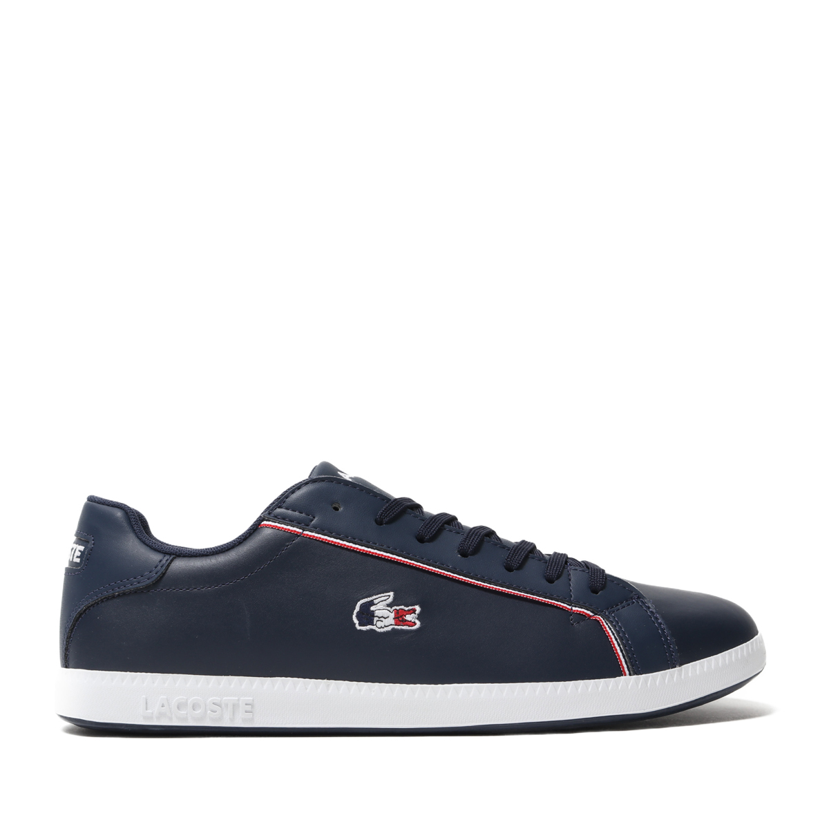 LACOSTE GRADUATE 119 3(NVY/WHT/RED)(ラコステ グラジュエート 119 3)【メンズ】【スニーカー】【19SP-I】