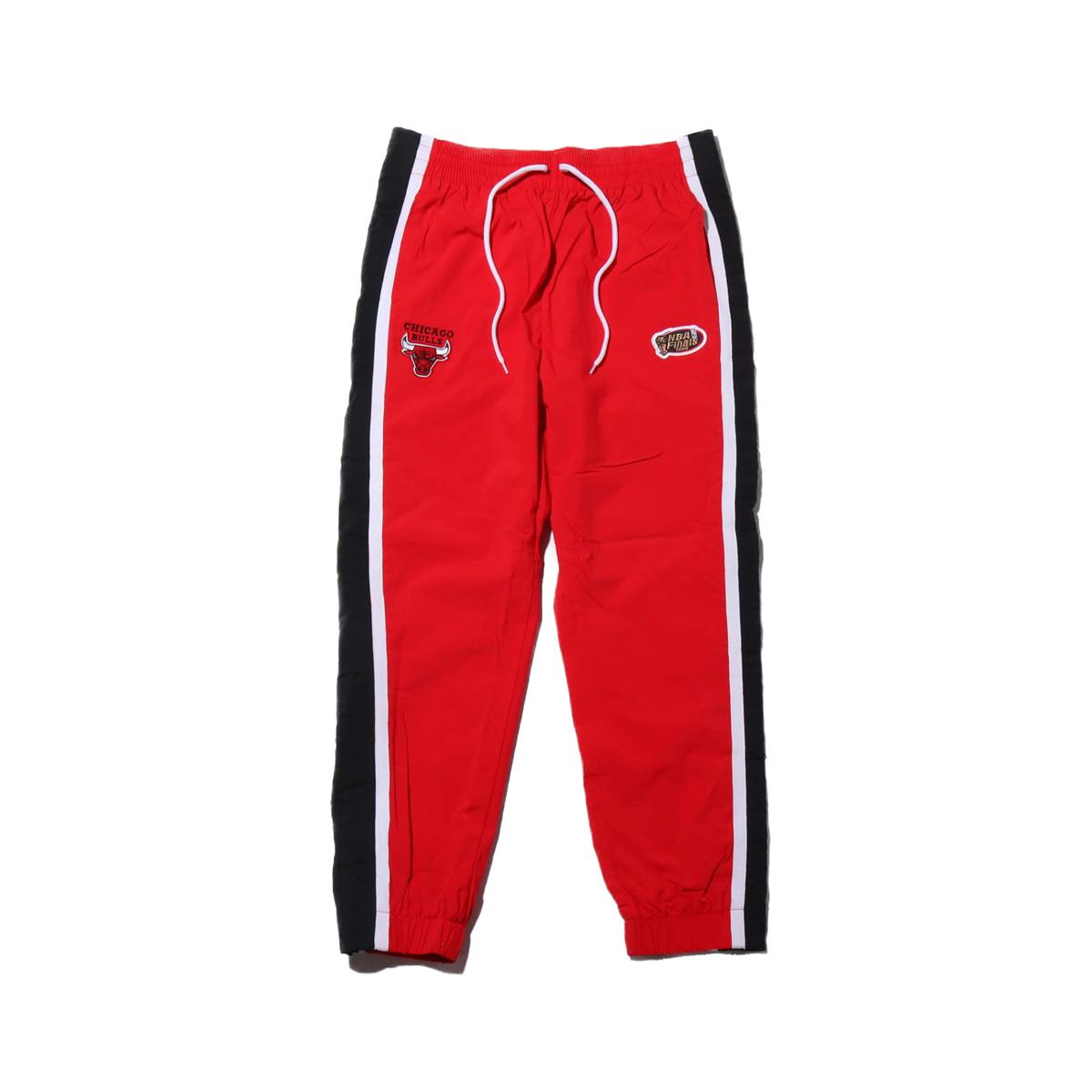 Mitchell & Ness LS TA Jogger Pants - Chicago Bulls(RED)(ミッチェルアンドネス ジョガーパンツ シカゴブルズ)【メンズ】【ロングパンツ】【19FW-I】