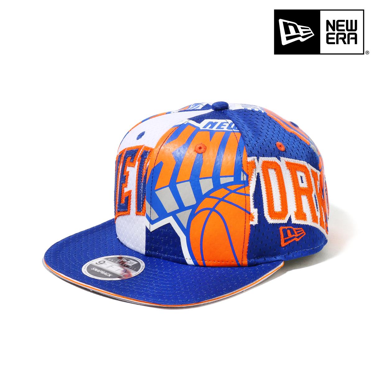 db1b93f0108 NEW ERA 9FIFTY Original Fit NBA Jersey Mesh NEW YORK KNICKS (BLUE) (new  gills 9 fifty original fitting NBA jersey mesh New York Knicks)