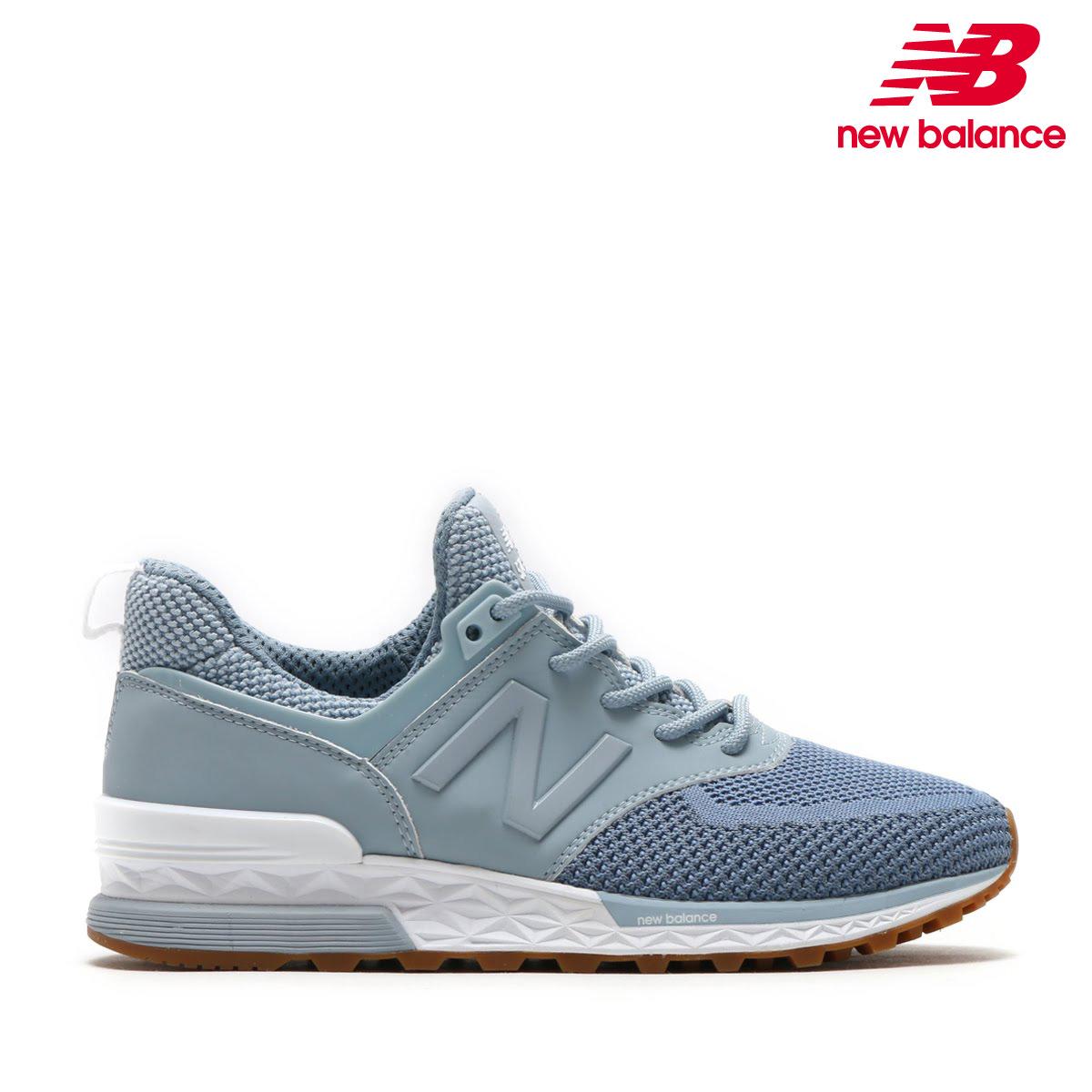 New Balance WS574WB(BLUE)(ニューバランス WS574WB)【レディース】【スニーカー】【18SP-I】【30】【sale0123】