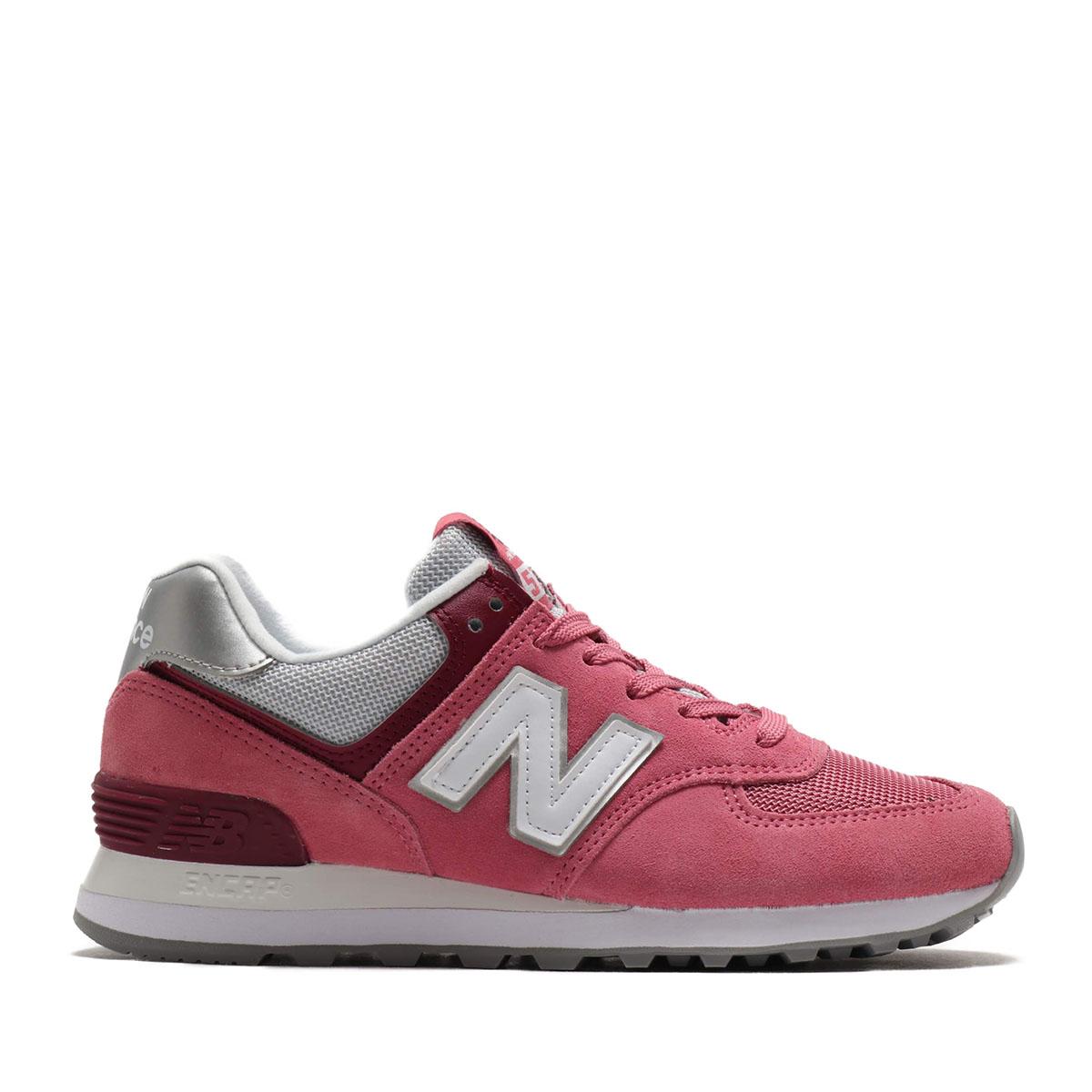 New Balance WL574SOR(ROSE RED)(ニューバランス WL574SOR)【レディース】【スニーカー】【20SS-I】