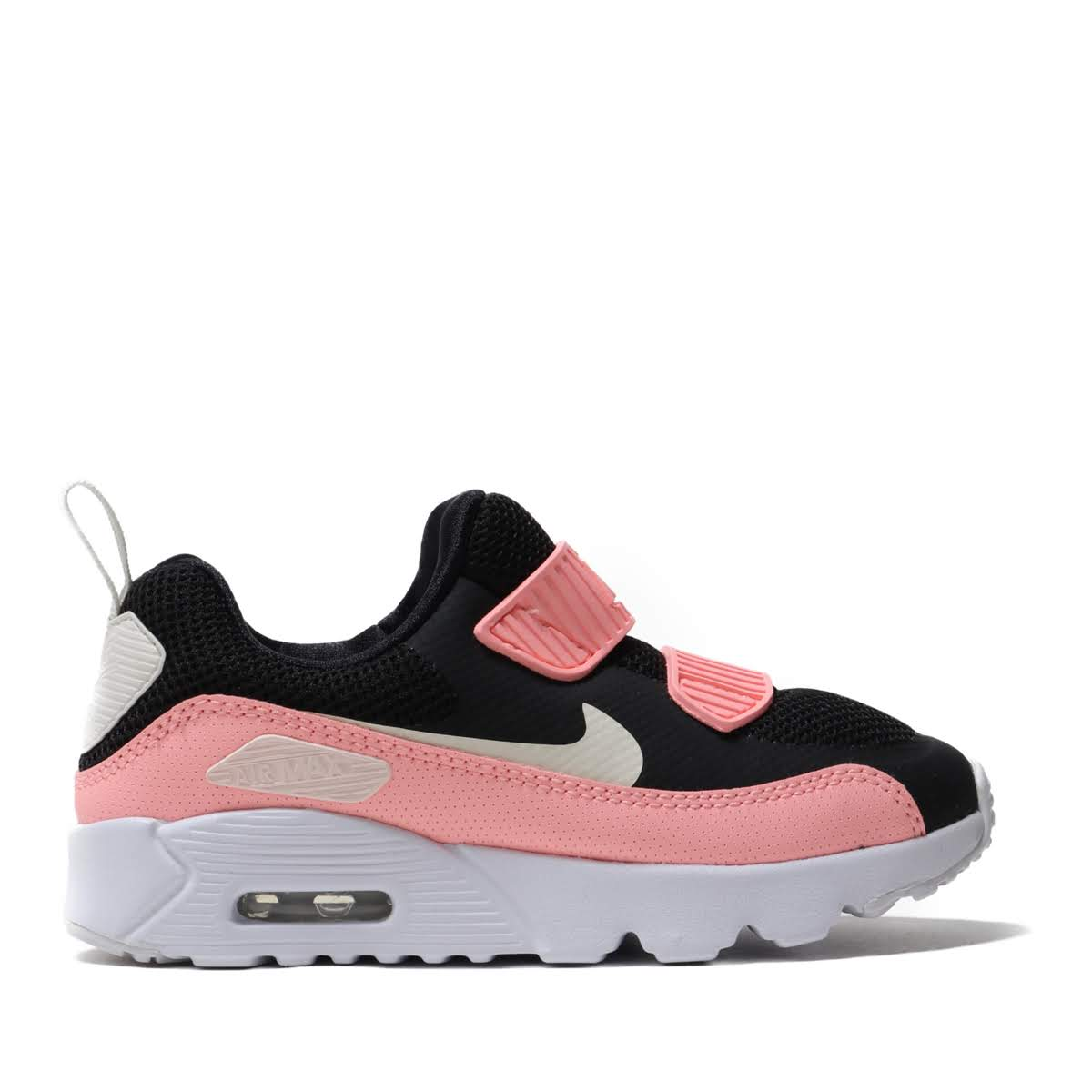NIKE AIR MAX TINY 90 PS(BLACK/PALE IVORY-PINK TINT-WHITE)(ナイキ エア マックス タイニー 90 PS)【キッズ】【スニーカー】【19FA-I】