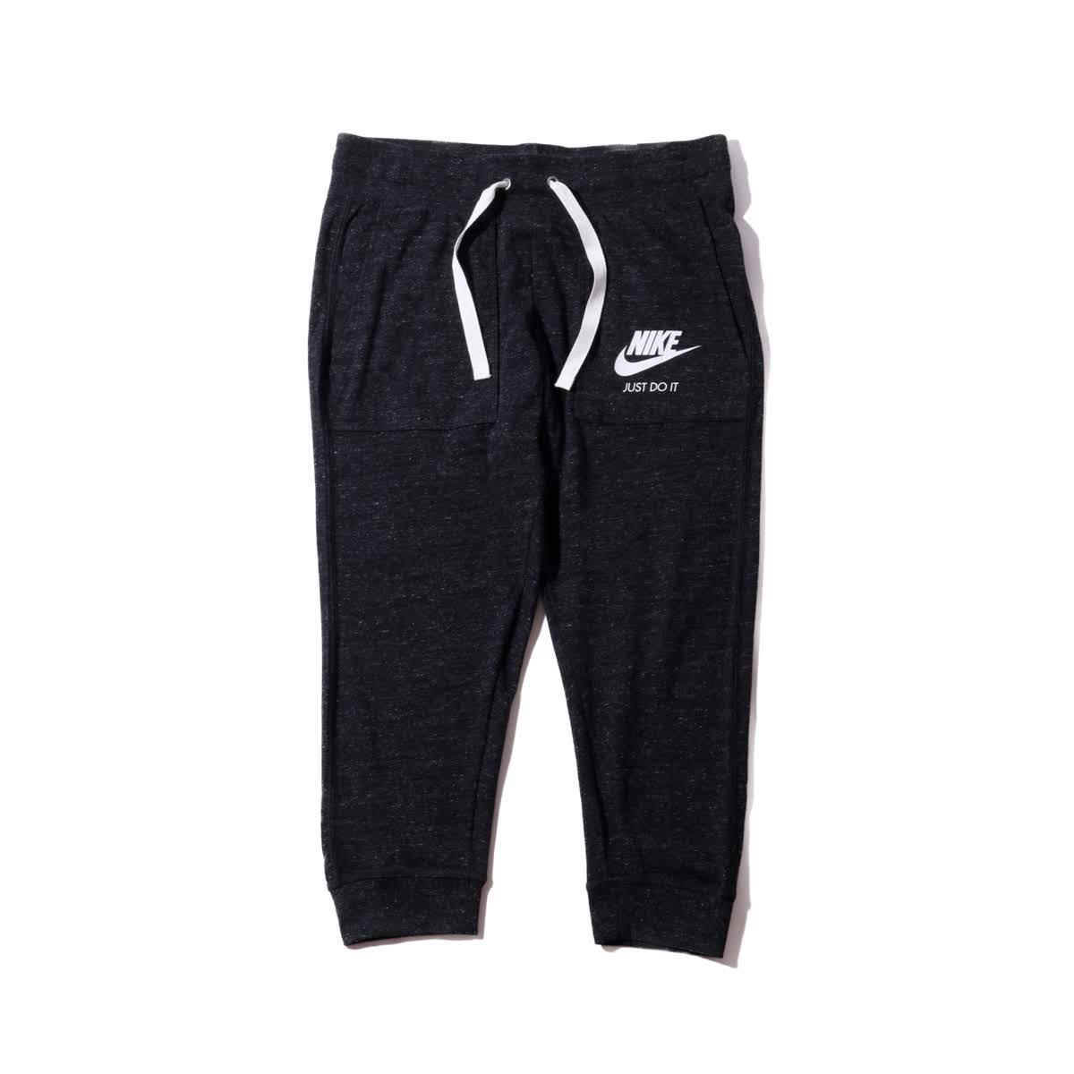 1cab587cd Kinetics: NIKE AS W NSW GYM VNTG CPRI (BLACK/SAIL) (Nike women gym ...