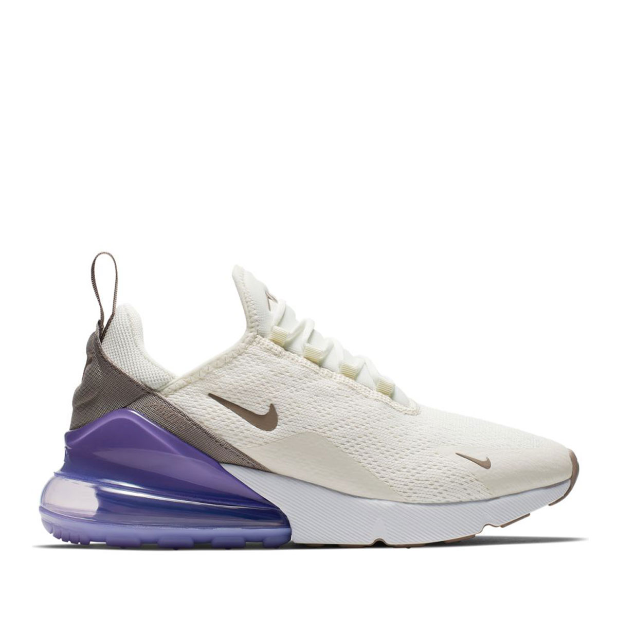 18d9283d8 Kinetics  NIKE W AIR MAX 270 (SAIL PUMICE-SPACE PURPLE-WHITE) (Nike women  Air Max 270)