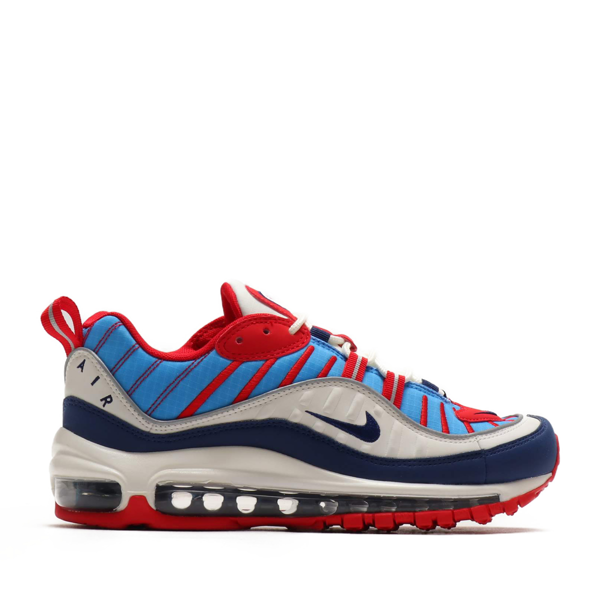finest selection a8ed6 e2707 NIKE W AIR MAX 98 (SMMT WHT BL VD-UNV RD-RFLCT SL) (Nike women Air Max 98)