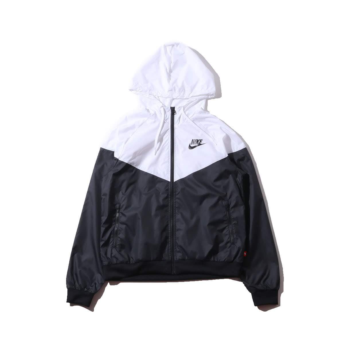 351838d0c417 Kinetics  NIKE AS W NSW WR JKT (BLACK WHITE WHITE BLACK) (Nike women ...