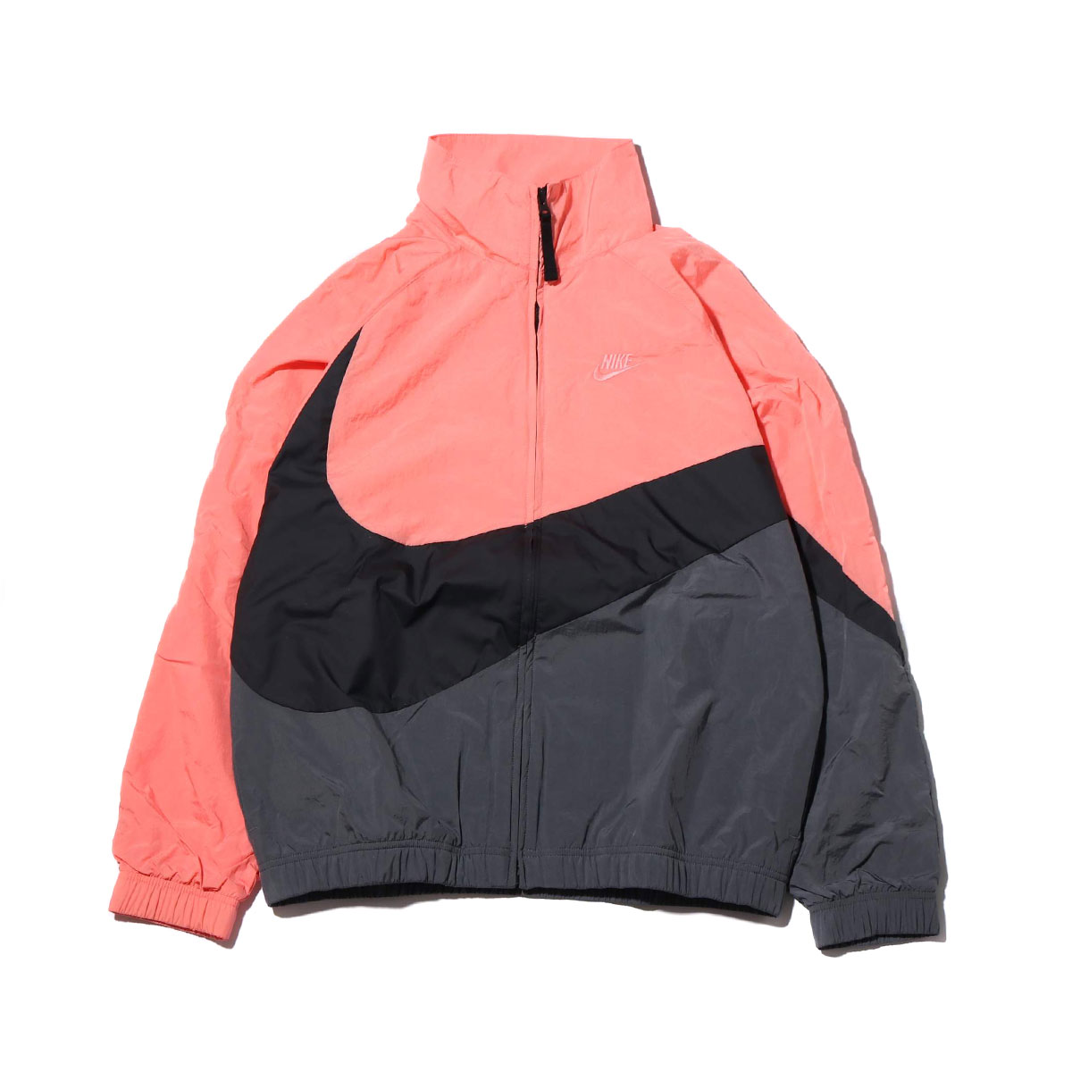 NIKE AS M NSW HBR JKT WVN STMT(PINK GAZE /BLACK/DARK GREY/PINK GAZE)(ナイキ HBR STMT ウーブン ジャケット)【メンズ】【ジャケット】【19SU-I】
