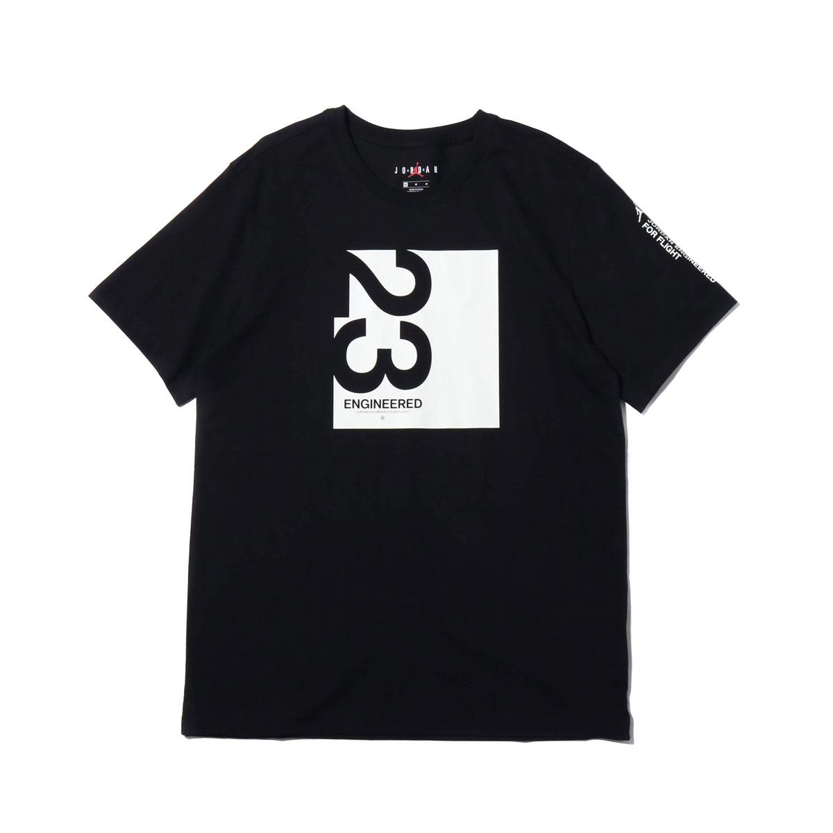8e912055094a11 Kinetics: NIKE M J 23ENG SS CREW (BLACK/WHITE) (Nike Jordan 23ENG S ...