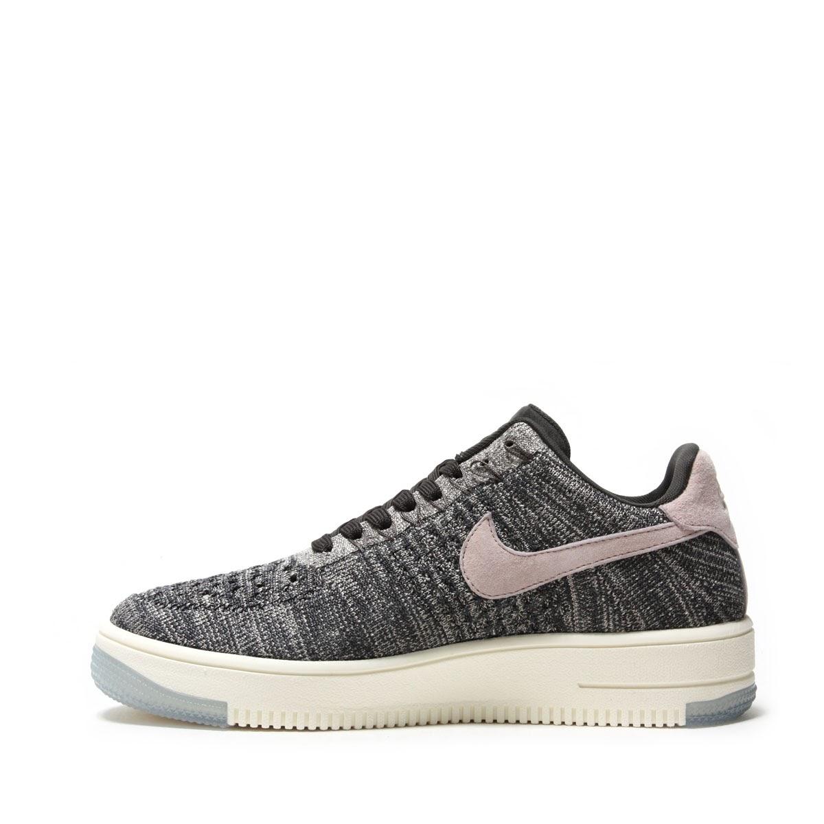 6e9954c1ec79e NIKE W AF1 FLYKNIT LOW (MIDNIGHT FOG SILT RED-IVORY-STRING) (Nike women AF1  fly knit low)
