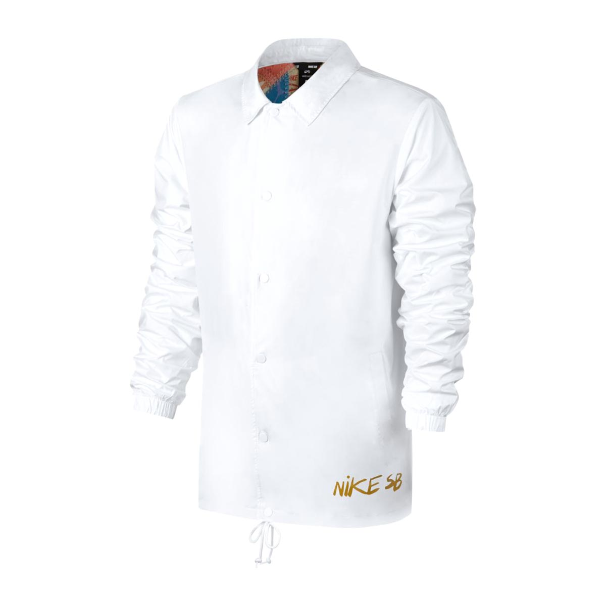 7762a74885f6 NIKE AS M NK SB SHLD JKT ICON QLT (WHITE (MINERAL GOLD)) (Nike SB SHIELD  icon kilt jacket)
