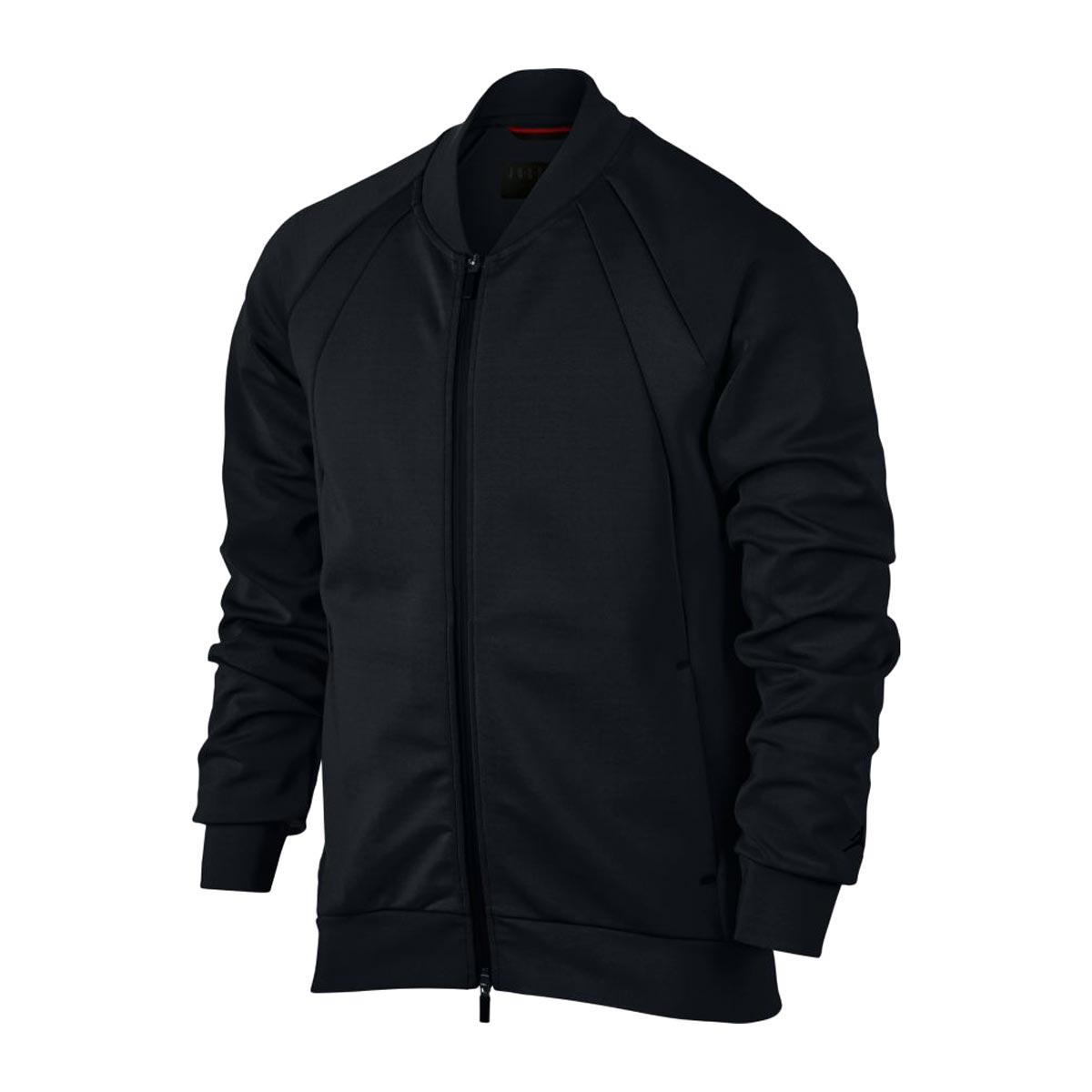 d4d78afbb6925c NIKE JSW FLIGHT TECH JKT (BLACK BLACK) (Nike Jordan JSW flight technical  center jacket)