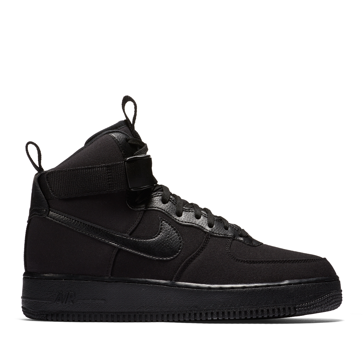 on sale 1f446 a2ce9 NIKE AIR FORCE 1 HIGH  07 CANVAS (BLACK BLACK-ANTHRACITE) (Nike air force 1  high 07 canvas)