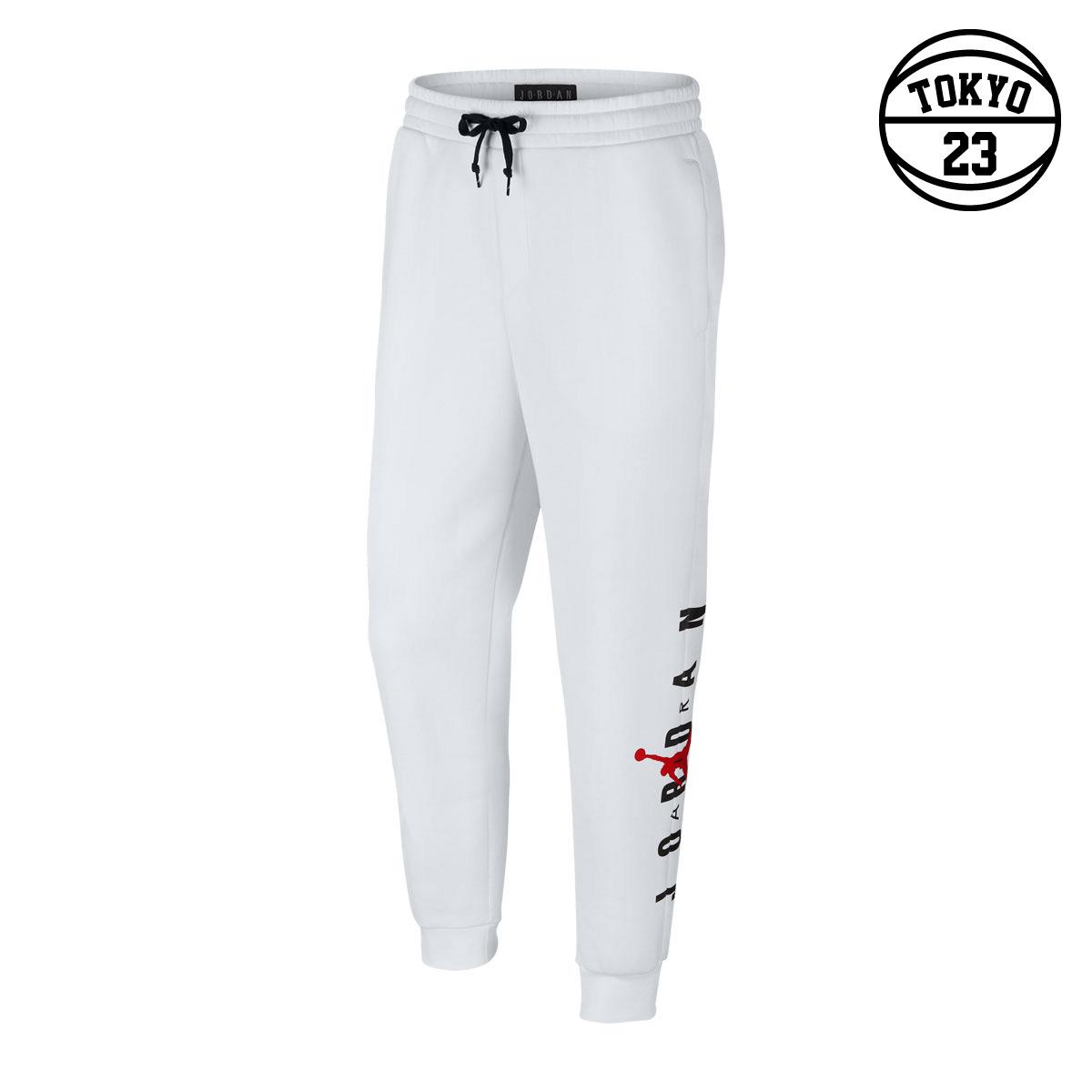 65b16e1d9dc24e Kinetics  NIKE JUMPMAN AIR GFX FLEECE PANT (WHITE GYM RED) (Nike Jordan  jump man air GFX fleece underwear)