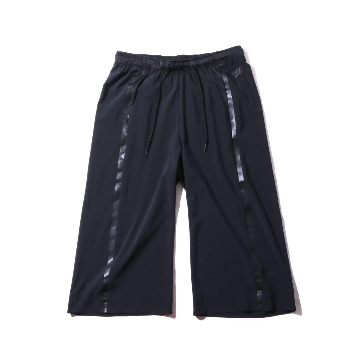 NIKE WMNS CAPRI BONDED WOVEN PANT(BLACK)(ナイキ ウィメンズ ボンデッド ウーブン パンツ)【レディース】【パンツ】【16FA-I】
