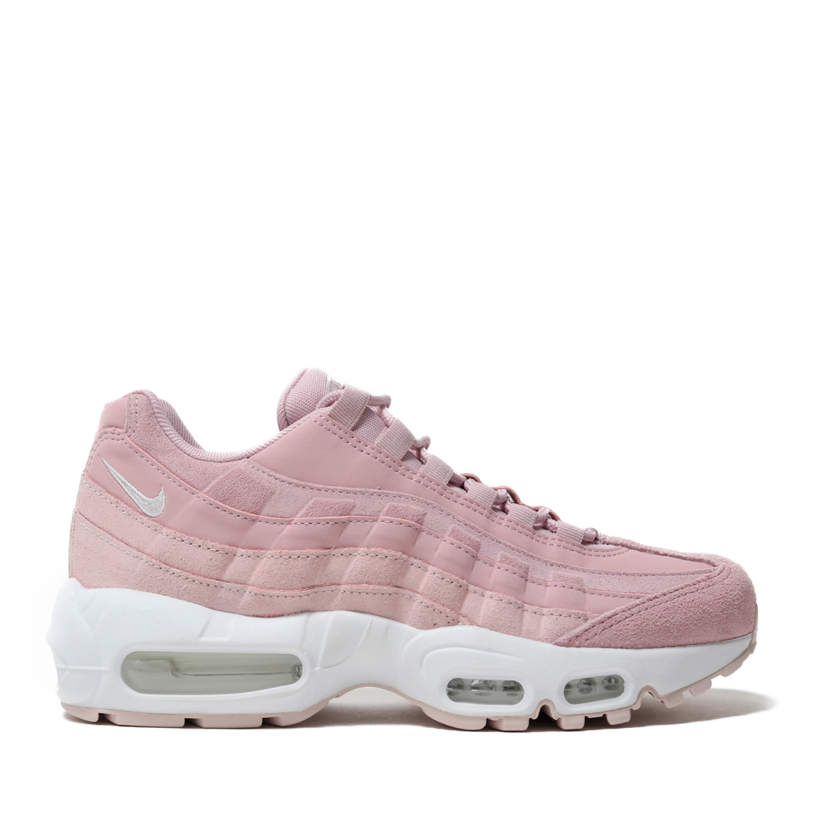 54bce463a7 Kinetics: NIKE WMNS AIR MAX 95 PRM (PLUM CHALK/BARELY ROSE-SUMMIT ...