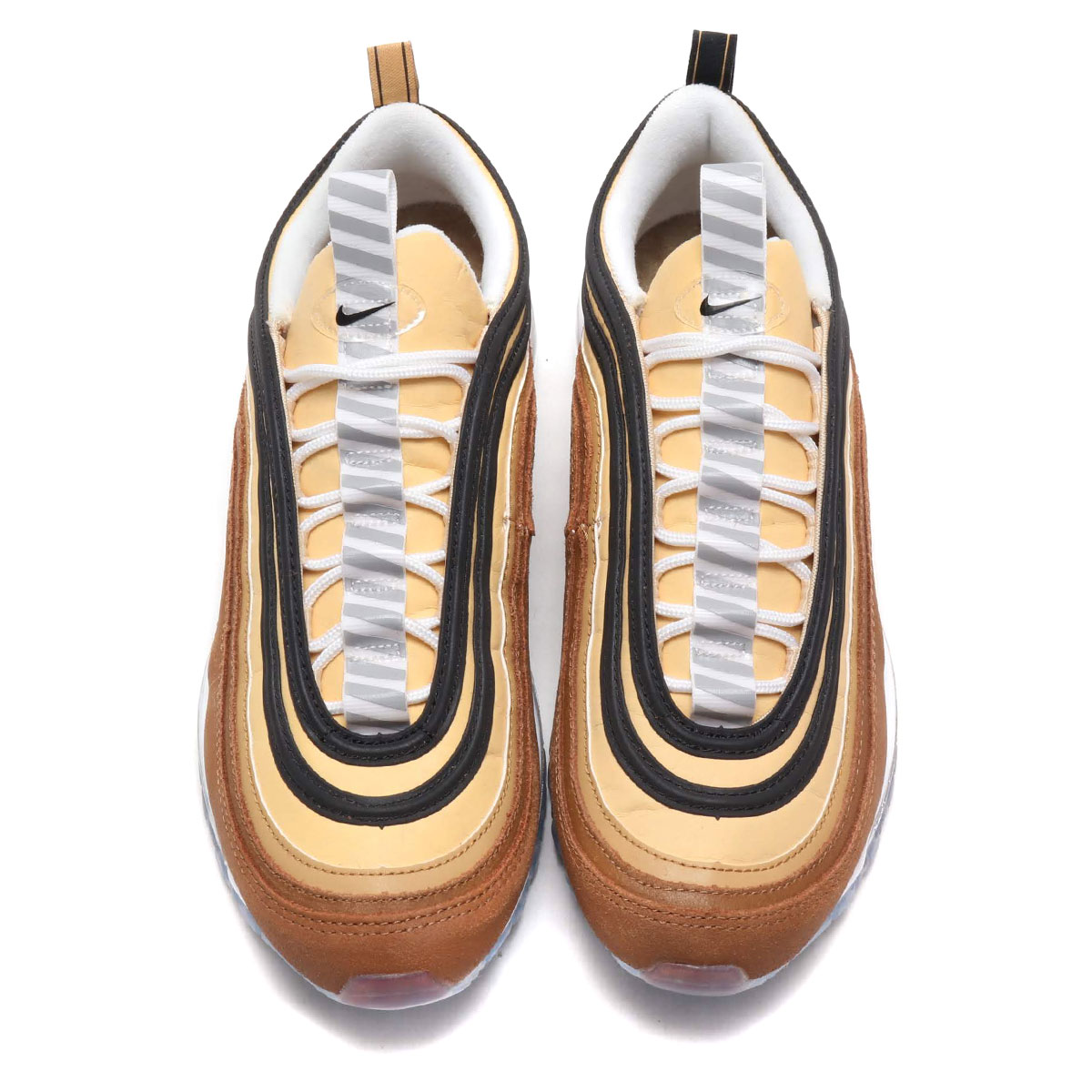 online store 9aab4 078c7 NIKE AIR MAX 97 (ALE BROWN BLACK-ELEMENTAL GOLD) (Kie Ney AMAX 97)