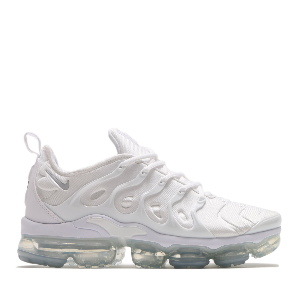 fa25bb520901 NIKE AIR VAPORMAX PLUS (WHITE WHITE-PURE PLATINUM) (Nike air vapor max plus)