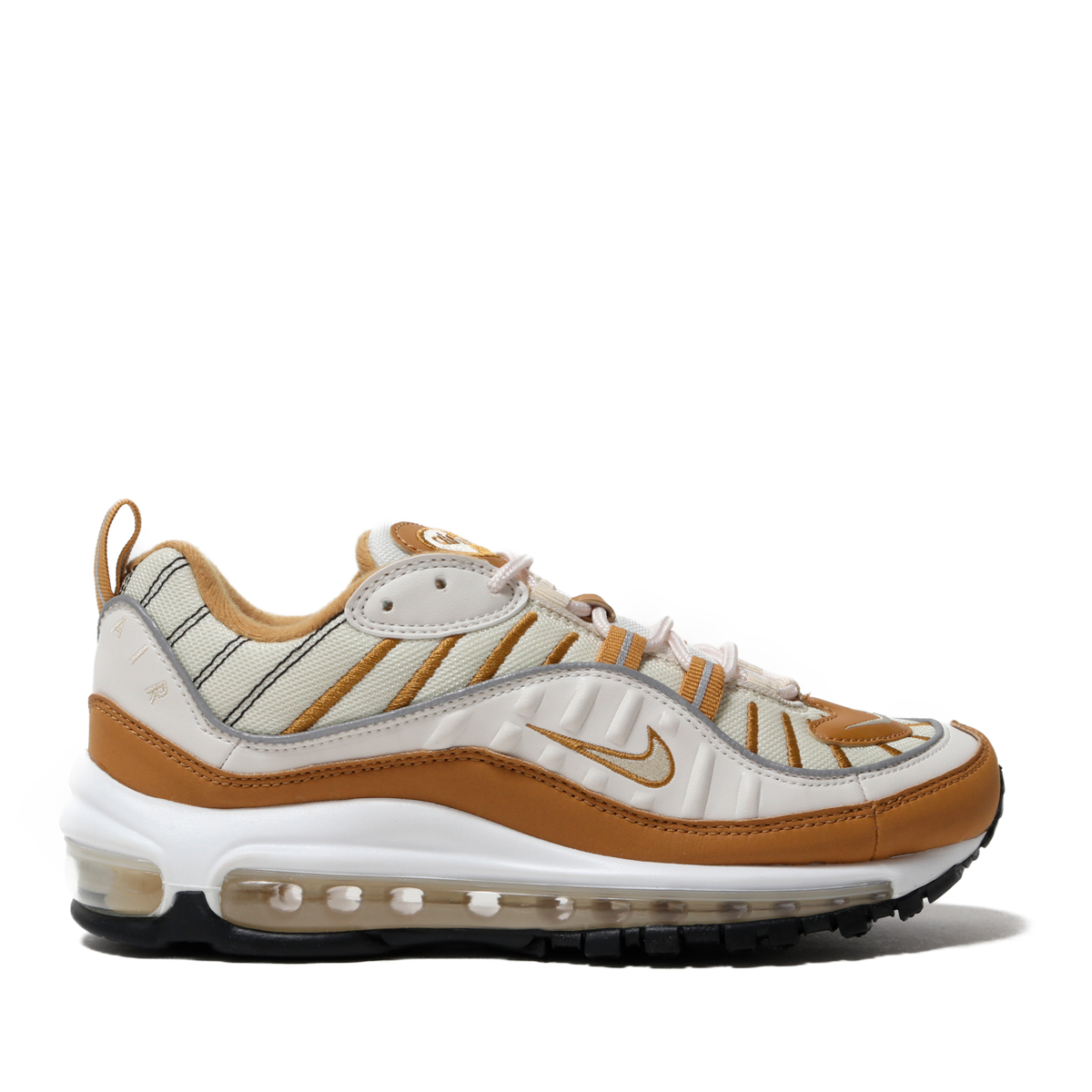 on sale c508f 73c0b NIKE W AIR MAX 98 (PHANTOMBEACH-WHEAT-REFLECT SILVER) (Nike women Air Max  98)