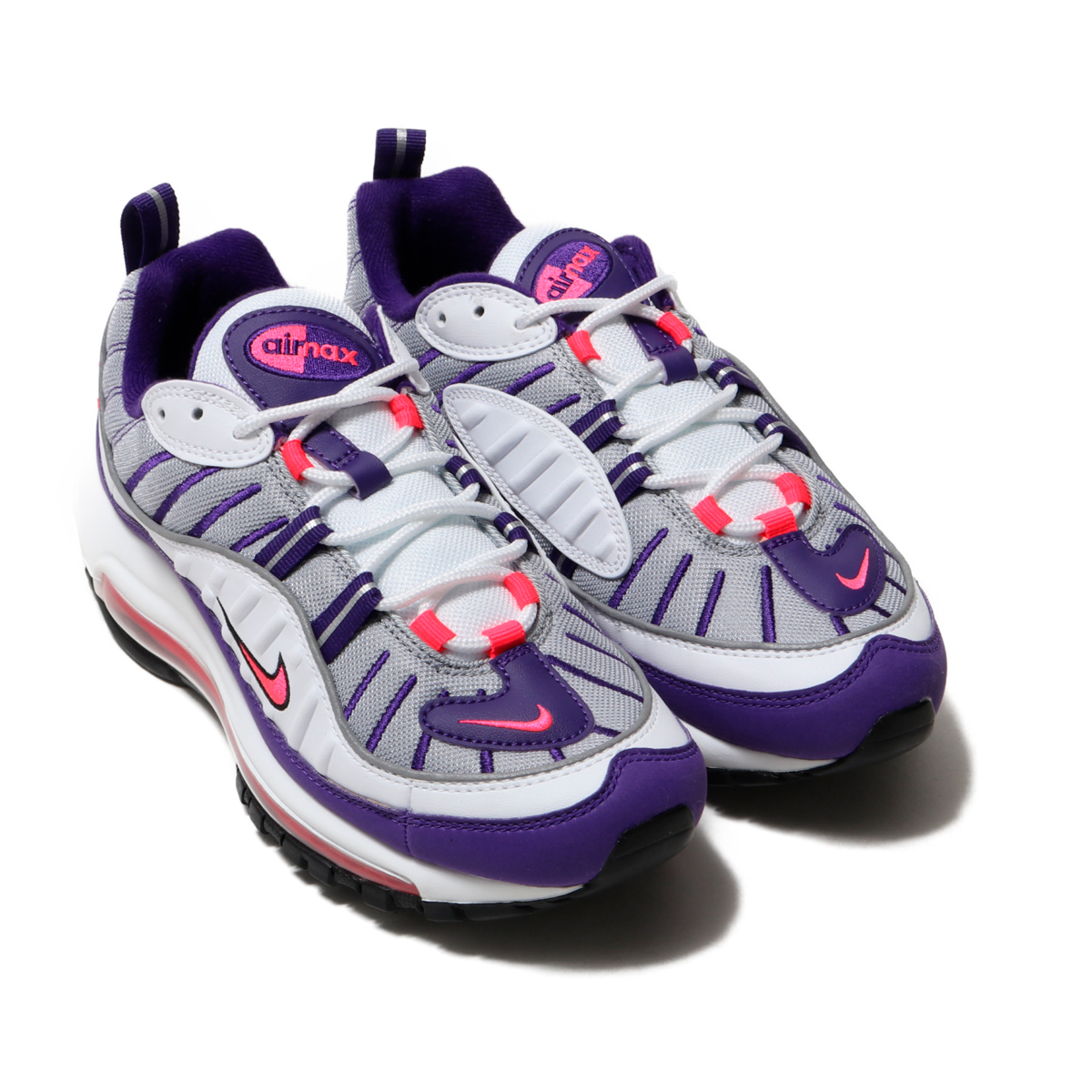 hot sale online bfc62 ff064 ... NIKE W AIR MAX 98 (WHITE RACER PINK-REFLECT SILVER-BLACK) ...
