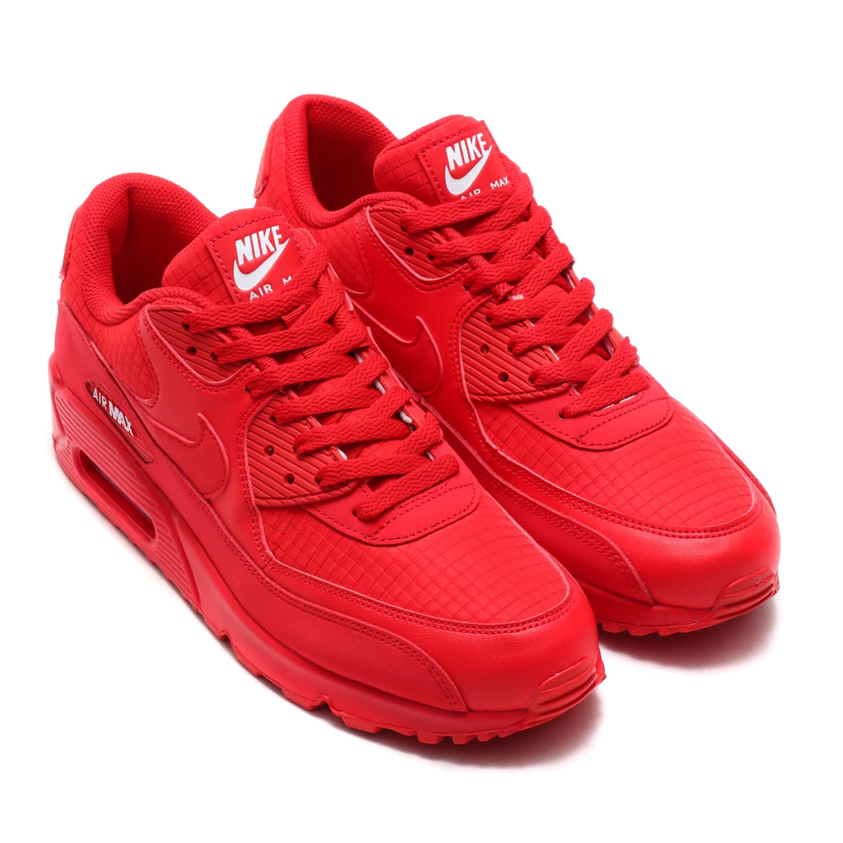sale retailer d0408 5f6b4 NIKE AIR MAX 90 ESSENTIAL (UNIVERSITY RED WHITE) (Kie Ney AMAX 90 essential)