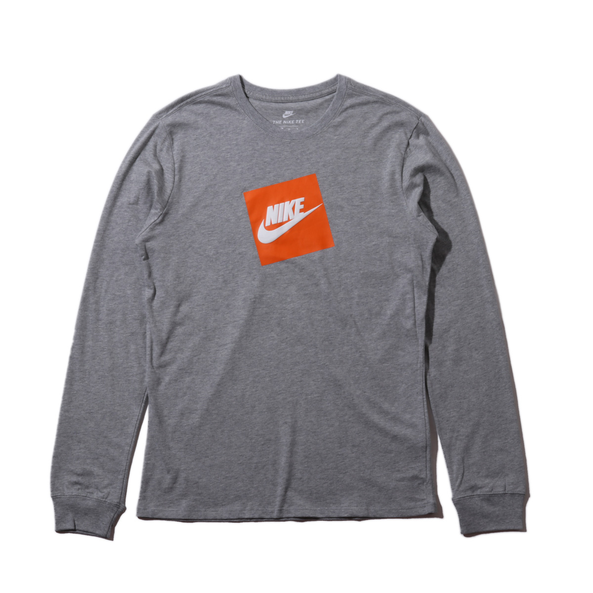 511db7d0 Kinetics: NIKE AS M NSW TEE LS FUTURA BOX HBR (DK GREY HEATHER/WHITE ...