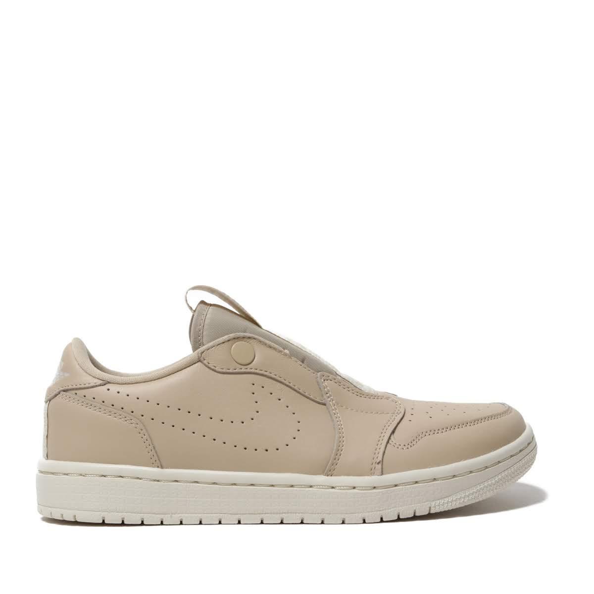 NIKE WMNS AIR JORDAN 1 RET LOW SLIP (DESERT ORE LIGHT CREAM) (Nike women Air  Jordan 1 nostalgic sirloin lip) b103d58b6