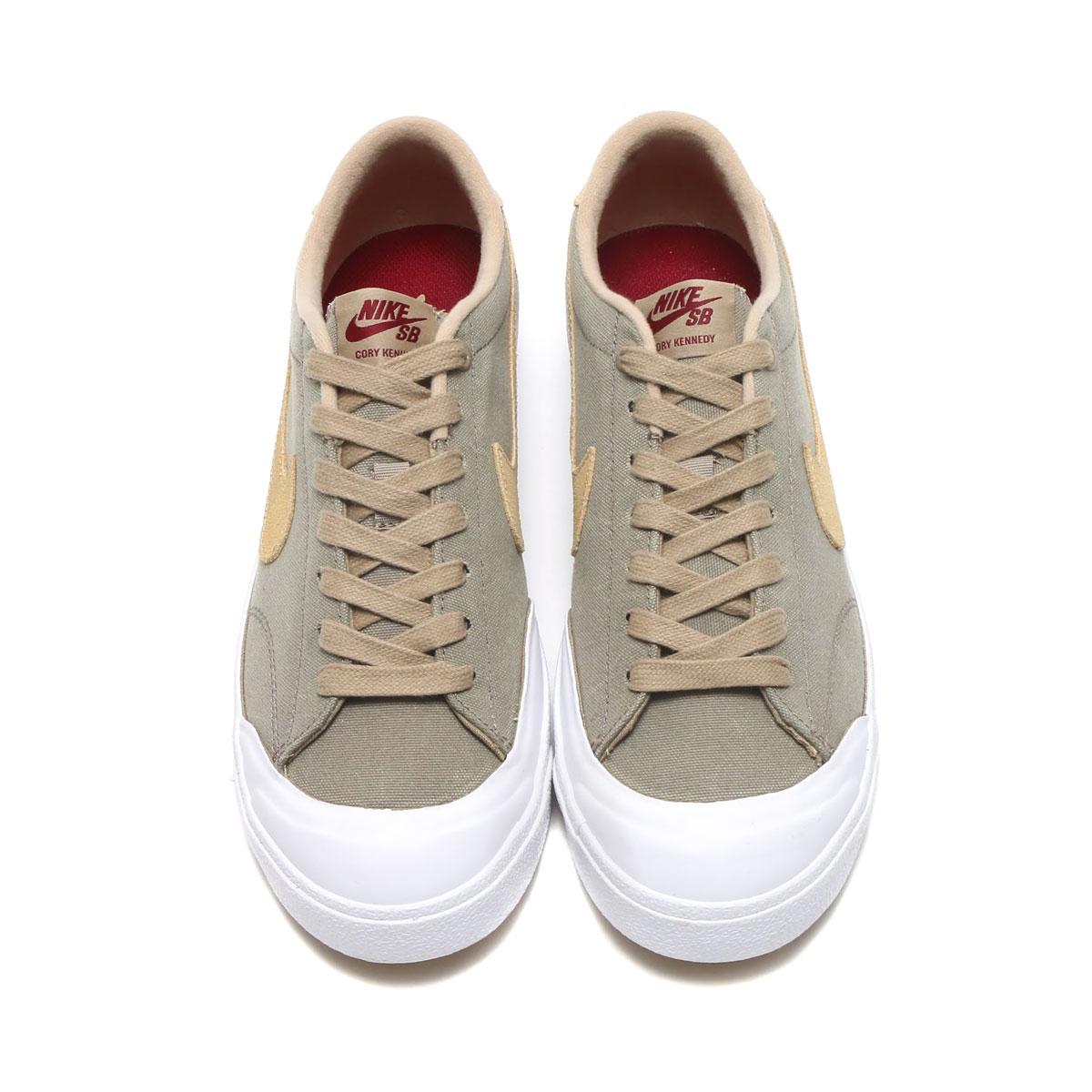 promo code fe7ef 288c4 NIKE ZOOM ALL COURT CK (KHAKI MUSHROOM-WHITE-GUM LIGHT BROWN) (Nike zoom  oar coat CK)