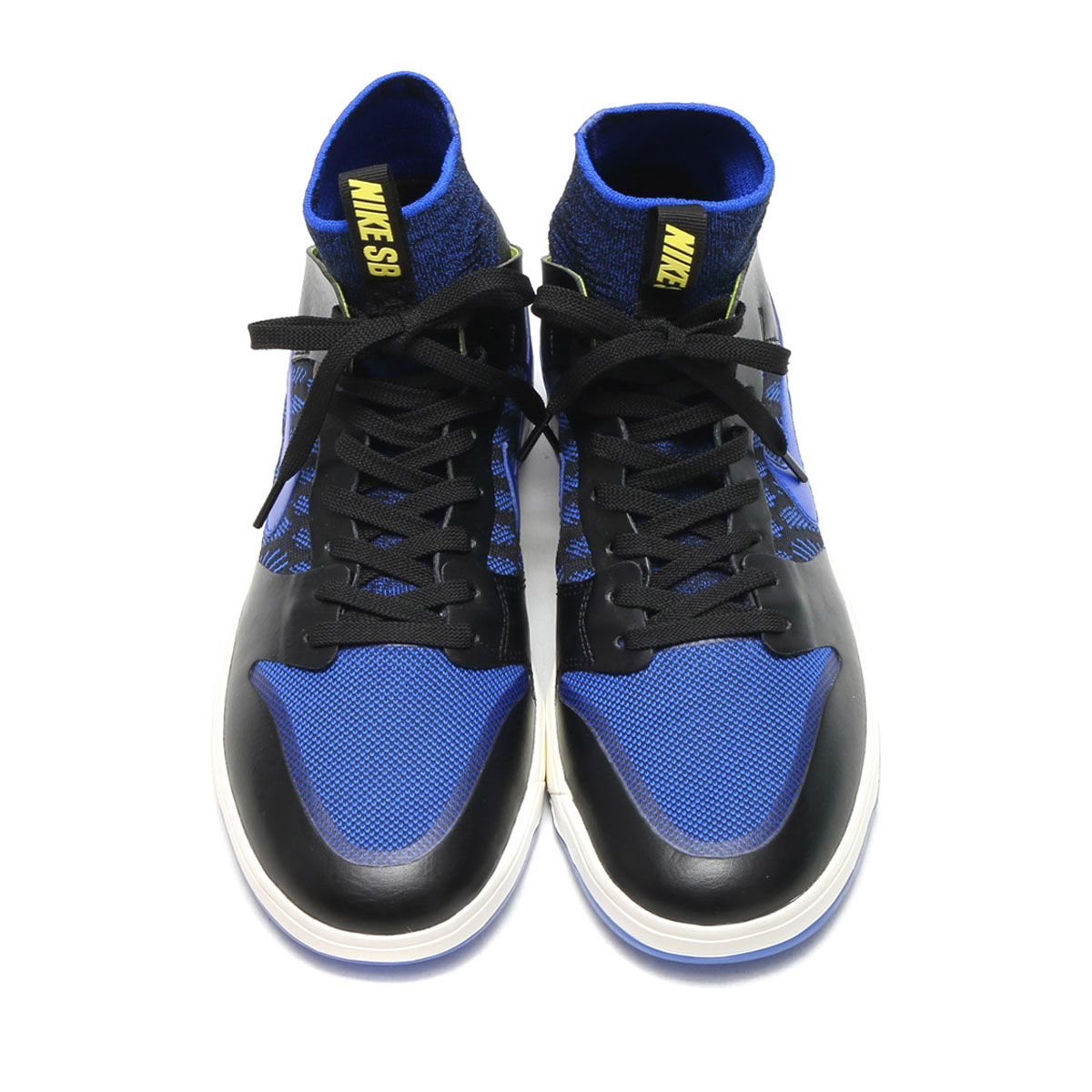 af10dea4d021 NIKE SB ZOOM DUNK HIGH ELT QS (BLACK RACER BLUE-SAIL-SONIC YELLOW) (Nike SB  zoom dunk high elite quick strike)