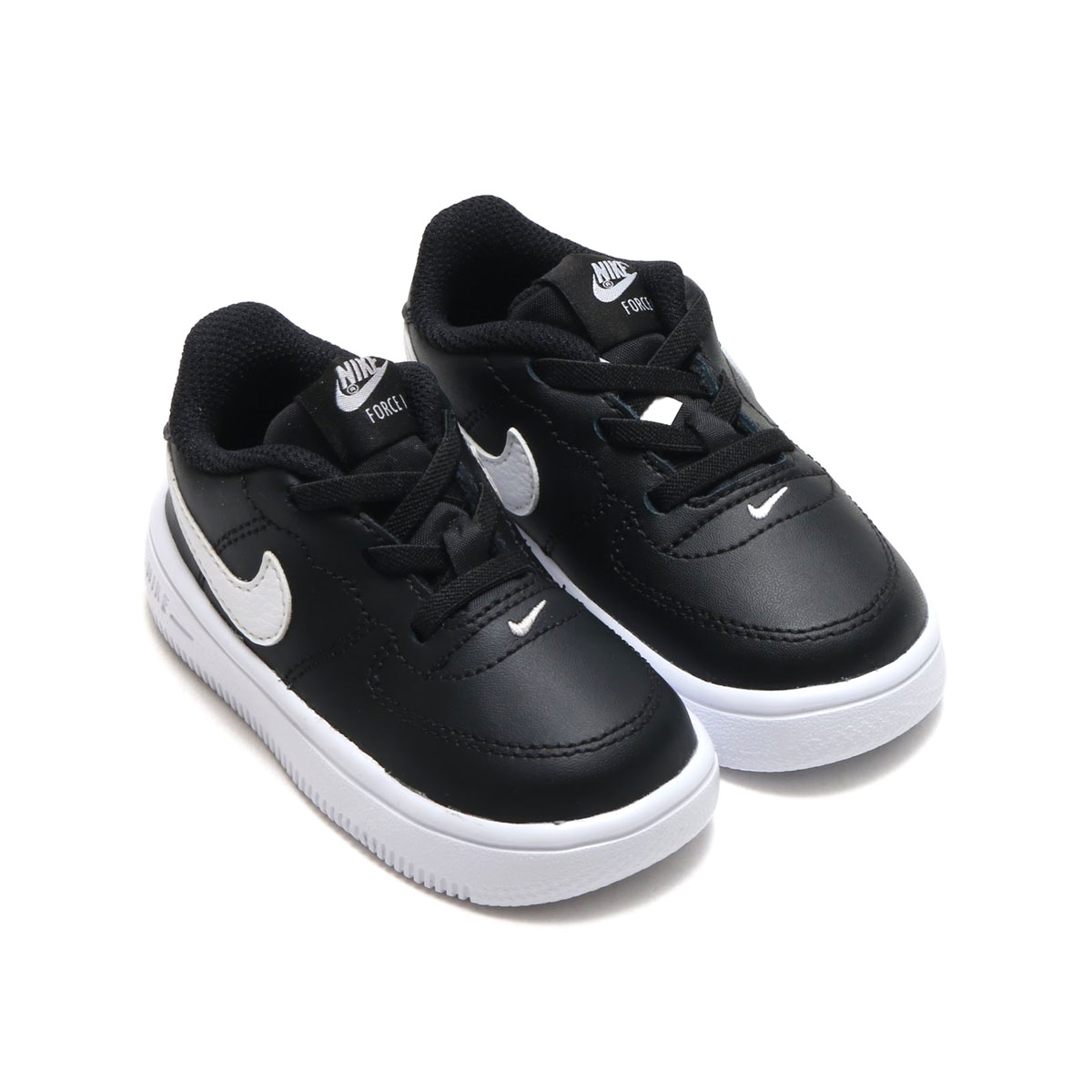 purchase cheap deab0 98190 ... NIKE FORCE 1  18 (TD) (BLACK WHITE) (Nike force ...