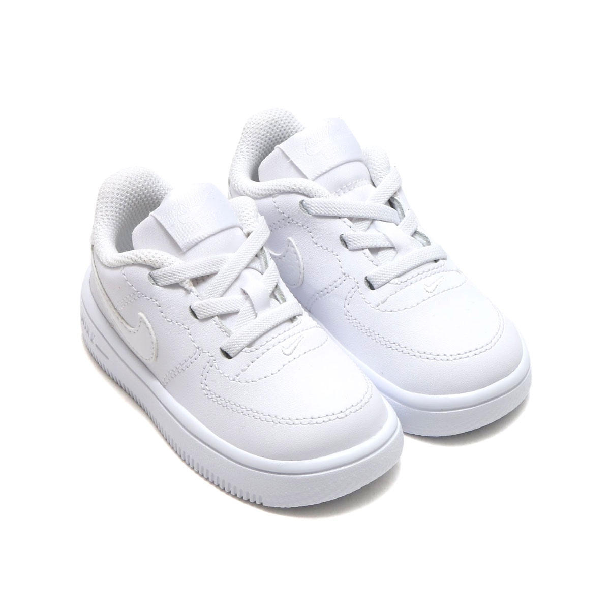 finest selection 54f21 6db33 ... NIKE FORCE 1  18 (TD) (WHITE WHITE) (Nike force ...