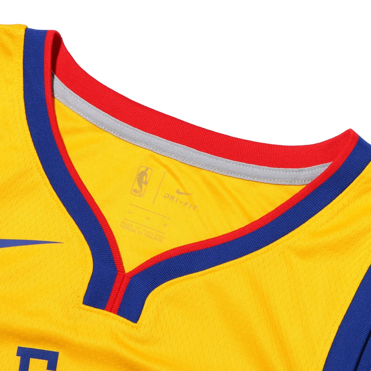 49a5f291e NIKE GSW M NK SWGMN JSY CE 17 (AMARILLO) (Nike GSW SWGMN HL 2017 jersey)