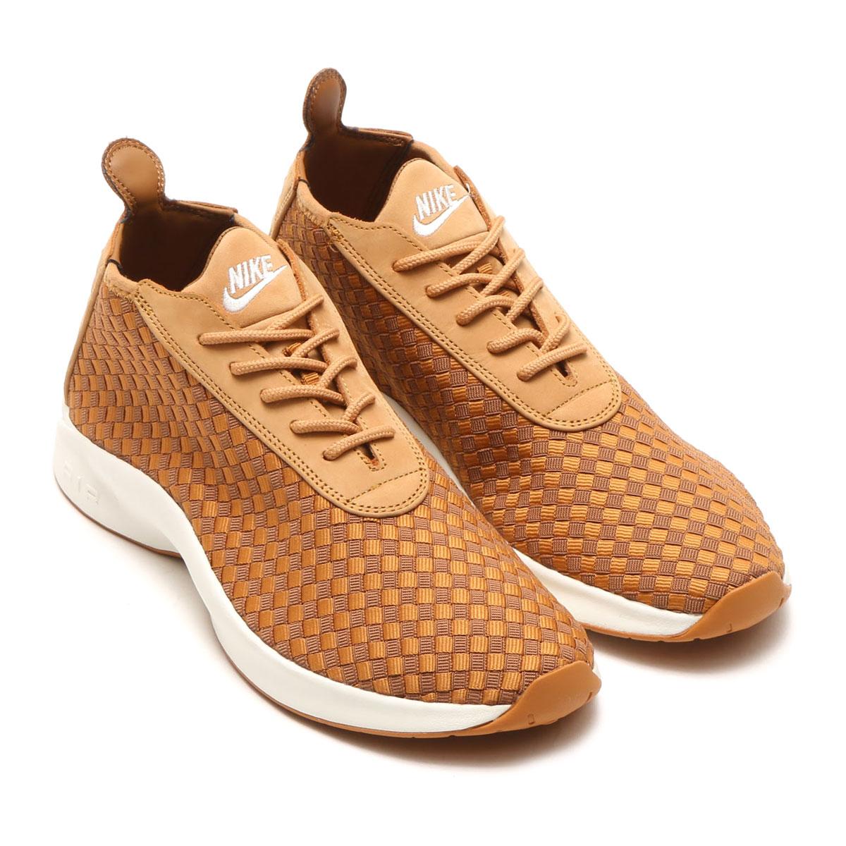 54b145f60e4 NIKE AIR WOVEN BOOT (FLAX ALE BROWN-SAIL-GUM MED BROWN) (Nike air Woo boots)