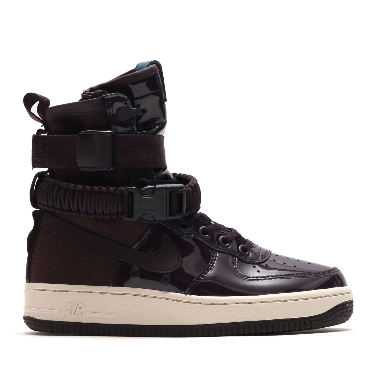 newest aa12e 48d42 NIKE WMNS SF AF1 SE PRM (PORT WINE PORT WINE-SPACE BLUE) ...