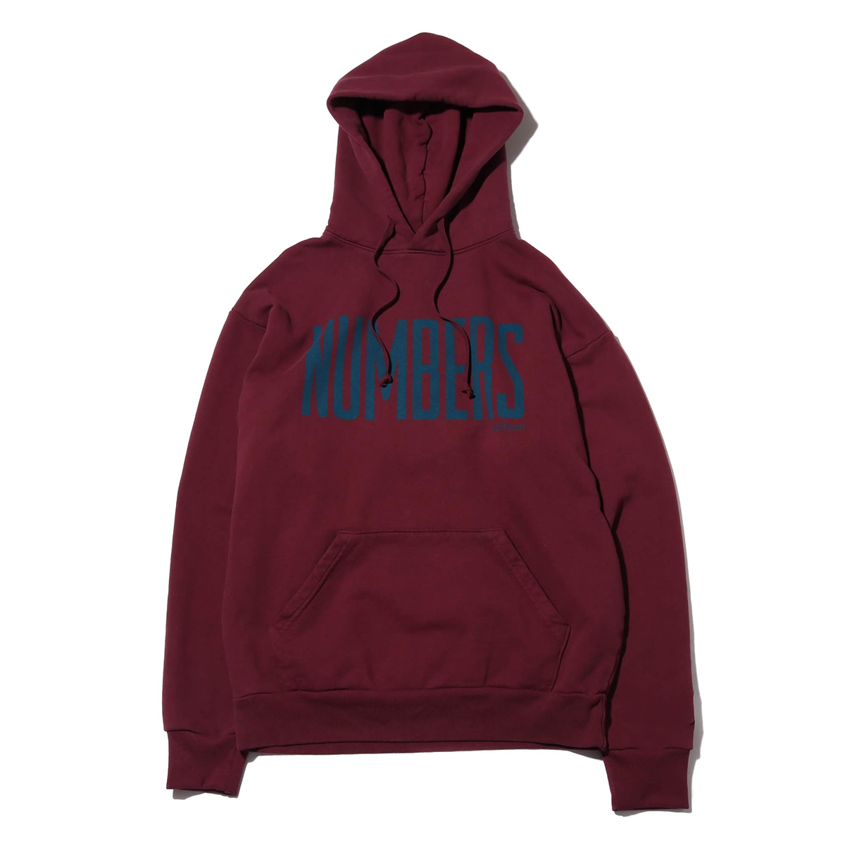 Numbers Edition UPRIGHT - FLEECE HOODIE(PORT)【メンズ】【パーカー】【sale0123】【30】【18FW-I】