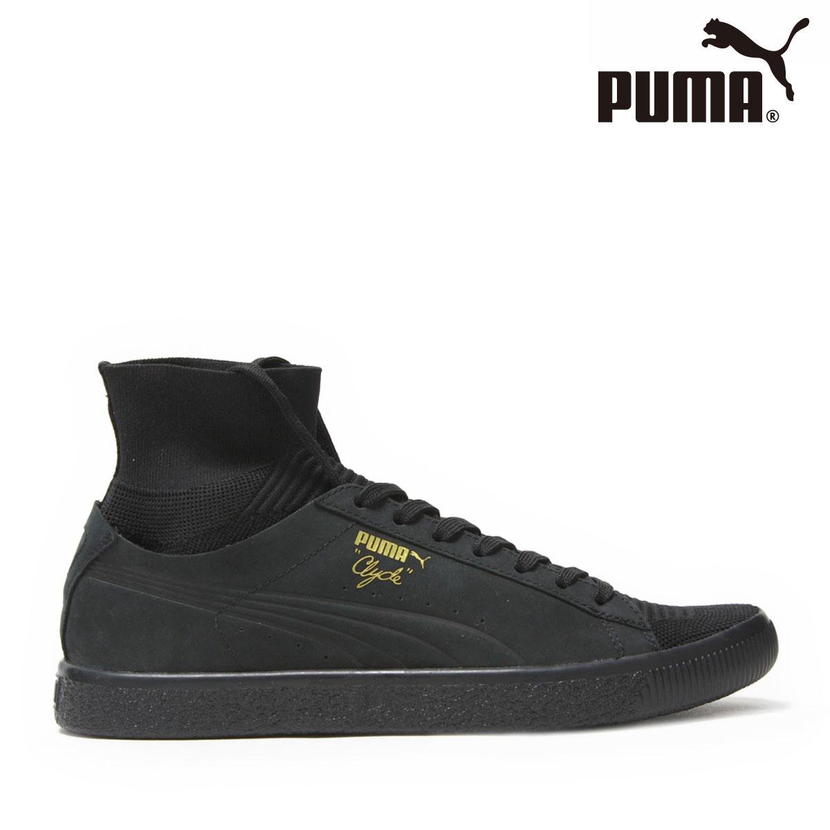PUMA CLYDE SOCK SELECT (PUMA BLACK-PU) (プーマ クライド ソック セレクト) 【メンズ】【スニーカー】【17FA-I】
