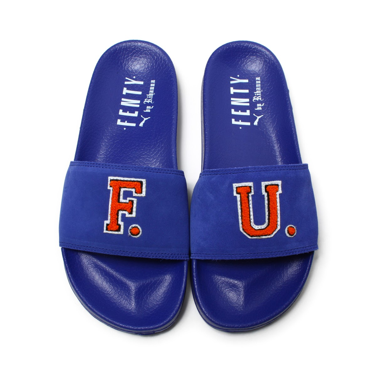 PUMA LEADCAT FENTY FU(CLEMATIS BLUE-SCARLET IBIS)(プーマ リードキャット フェンティ FU)【レディース】【スポーツサンダル】【リアーナ】【17HO-I】