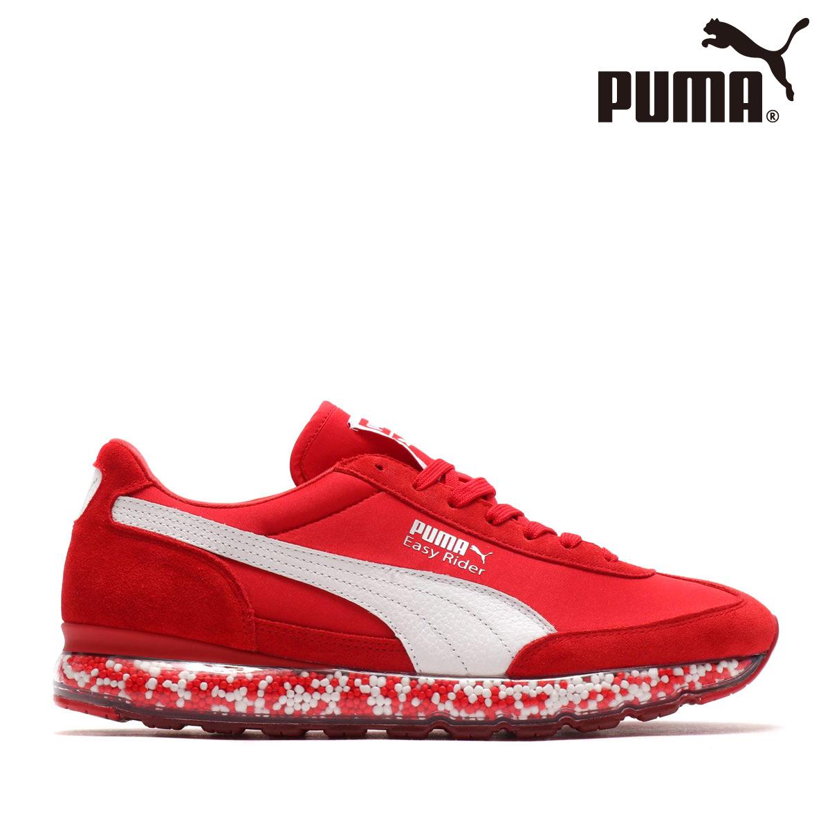 PUMA JAMMING EASY RIDER(RIBBON RED-PU)(プーマ ジャミング イージー ライダー)【メンズサイズ】【スニーカー】【18FW-I】