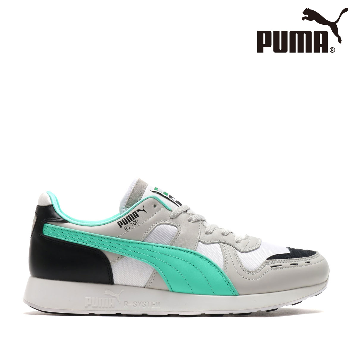 PUMA RS-100 RE-INVENTION(Gray Violet/Biscay Green/Puma White)(プーマ RS-100 リ-インベンション)【メンズ】【スニーカー】【18SP-I】