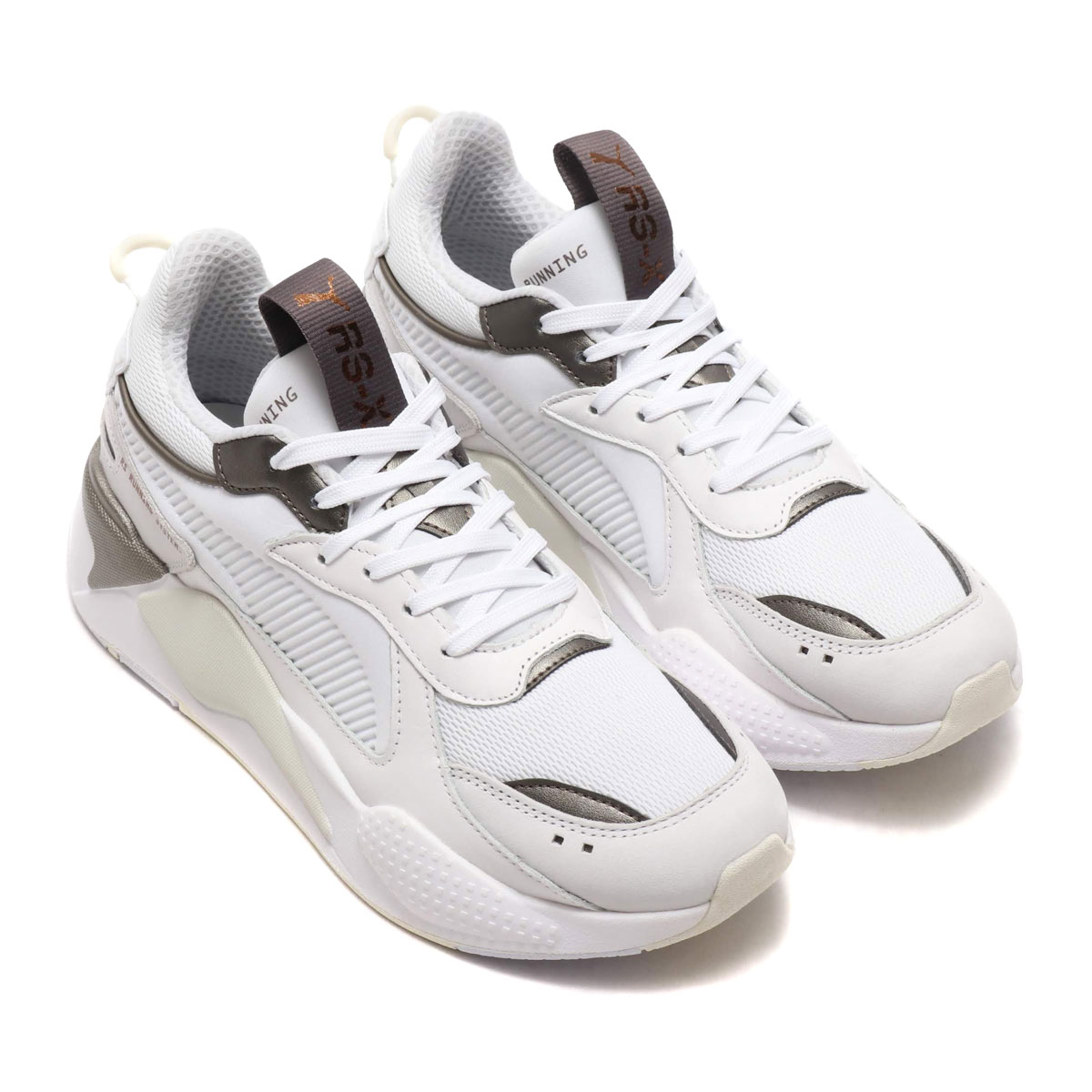 3d086af3aea Kinetics  PUMA RS-X TROPHY (PUMA WHITE-BRONZE) (Puma RS